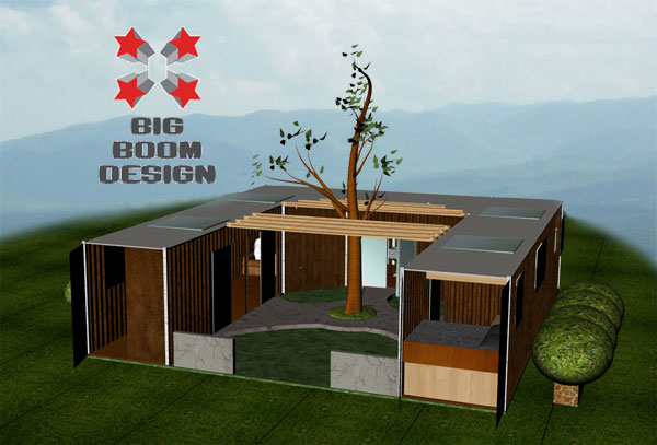 Container Home Designs And Plans Big Boom Blog Shipping Container Home