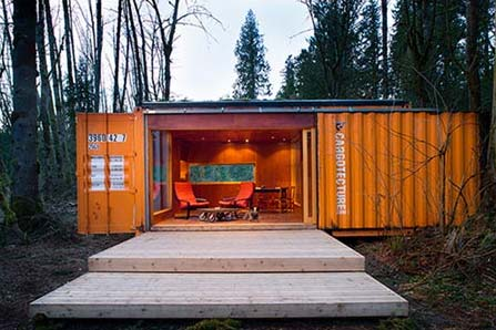 Shipping Container Home - Home and Garden Show