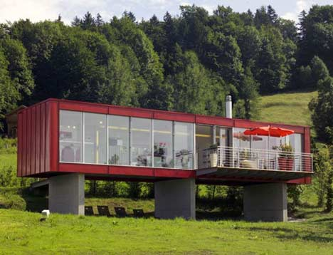 Austria Shipping Container Home My Favorite