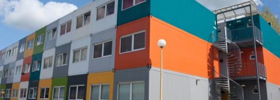 Looking to build a home using shipping containers?