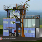 Shipping Container Home NC Mountains