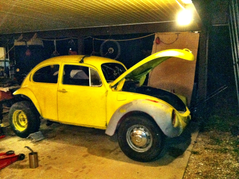 1973 VW Super Beetle Baja - Big Boom Blog
