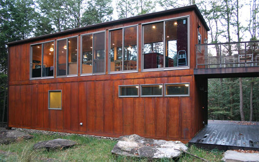 Shipping container home designs and plans for Prefabricated shipping container homes