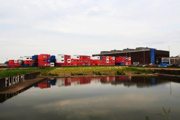 Shipping Container Hostel In Amsterdam