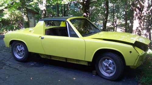 1974 914 Porsche Engine Removal – DIY Step by Step